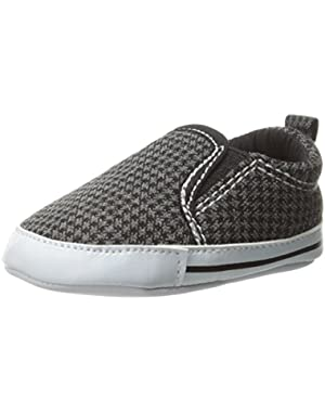 Carter's Baby-Boys Newborn Houndstooth Slipon Sneaker
