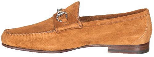 Gucci-Mens-Brown-Unlined-Suede-Horsebit-Loafers-Shoes