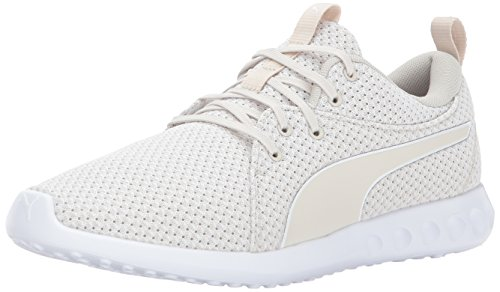 PUMA Men's Carson 2 Knit Sneaker Birch-puma White sale cheap price buy online new 5uO4YFkEu