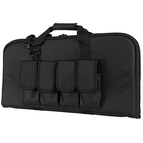 VISM by NcStar 2910 Pistol Subgun Gun Case, Black, 28