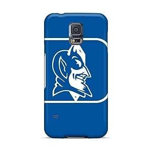 Excellent Hard Phone Covers For Samsung Galaxy S5 (wNS2151obun) Unique Design Lifelike Duke Blue Devils Skin