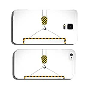 Construction Road Sign Illustration cell phone cover case iPhone6