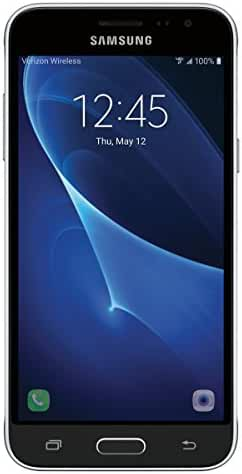 Samsung Galaxy J3, Verizon LTE Prepaid (Black)