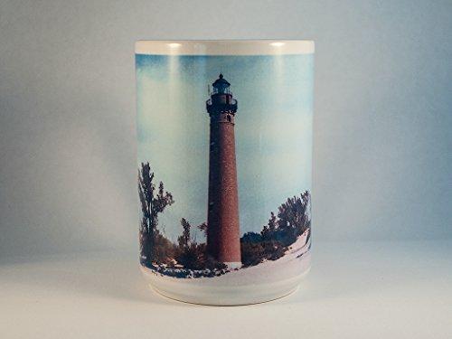 Little Sable Point Lighthouse (Coffee Mug, Little Sable Point Michigan Lighthouse Design)