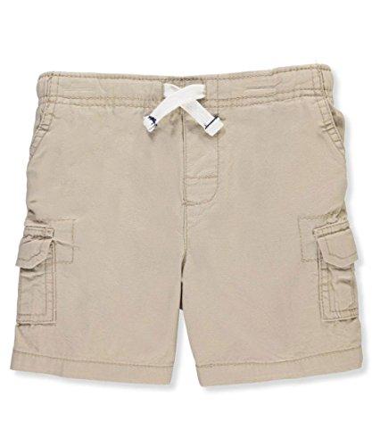 Carter's Baby Boys' Cargo Shorts - Khaki, 18 Months (Cargo Boys Khaki Toddler Shorts)