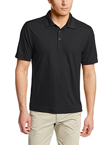 Cutter & Buck Men's Cb Drytec Northgate Polo Shirt, Black, XXX-large