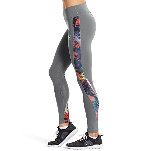 Mission Women's VaporActive Altitude Full Length Leggings, Quiet Shade/Broadway, X-Small