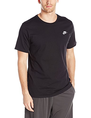 Nike Men's Sportswear Club Embroidered Futura Tee