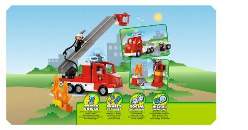 Lego Duplo Town 5682 Feuerwehrwagen Amazonde Spielzeug
