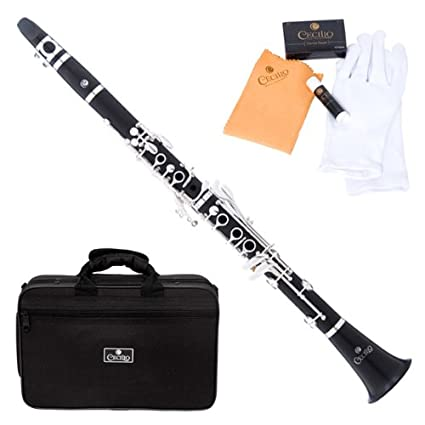 Amazon.com: Cecilio ct-480 4series Intermedio para clarinete ...