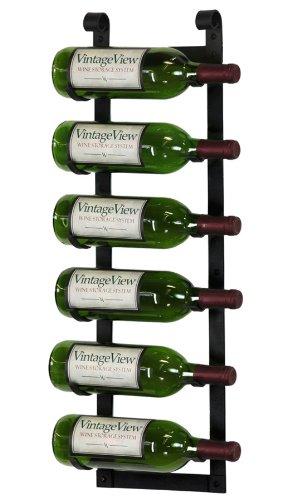 6 bottle wall mounted wine rack - 3