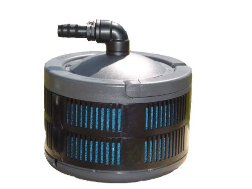 Algreen SuperFlo Pump Filters Include Both Mechanical and Biological Filtration for Ponds and Gardening by Algreen
