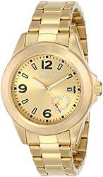 Invicta Women's 16327 PRO DIVER Analog Display Japanese Quartz Gold Watch