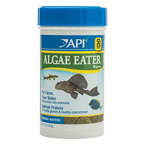 API ALGAE EATER WAFERS Algae Wafer Fish Food 3.7-Ounce Container