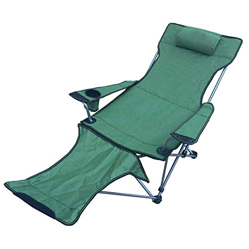 Aajolg Outdoor Folding Chair Camping Chairs,600D Oxford Cloth Thickened Steel Pipe with Storage Bag Portable Camp Chair,Suitable for Indoor and Outdoor,Fishing, Hiking, Etc,LongstyleDetachableC