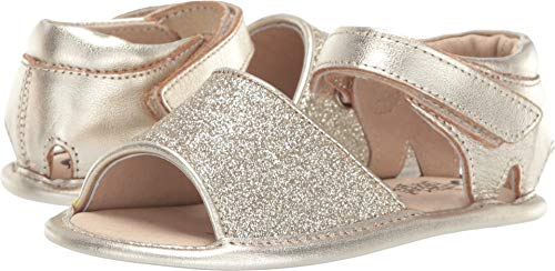 (Old Soles Baby Girl's Glam Bub (Infant/Toddler) Glam Gold/Gold 20 M EU)