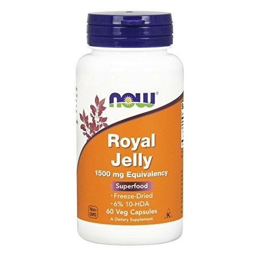 NOW Royal Jelly,60 Capsules
