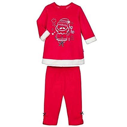 Pijama bebé 2 piezas Vestido + Legging Ho Ho – Talla – 12 meses (80