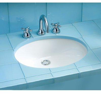 Toto LT597#51 Dantesca 19-Inch by 15-Inch Undercounter Lavatory Sink, Ebony ()