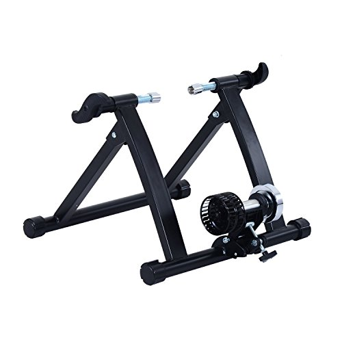 NEW!! Indoor Bike Trainer Bicycle Exercise Cycling Resistance Stand - BLACK by Polarbear's Shop