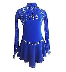 Handmade Classic Long Sleeve Ice Skating Dress