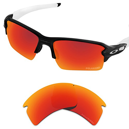 d66d4af84f Tintart Performance Replacement Lenses for Oakley Flak 2.0 XL Polarized  Etched - Buy Online in UAE.