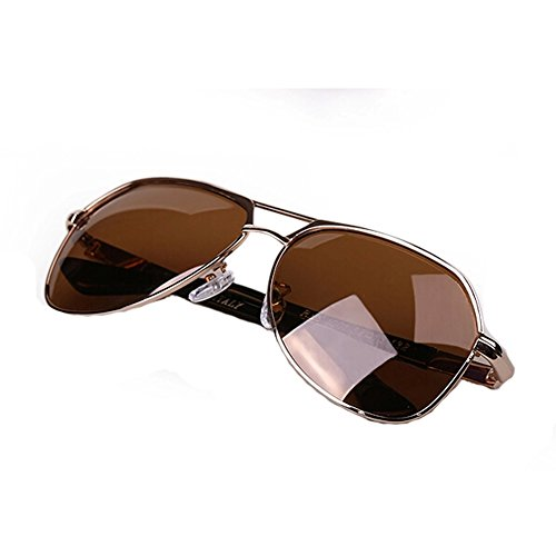 Classic Aviator Style Sunglasses Metal Frame Colored Lens UV - Express Polar Kid Glasses