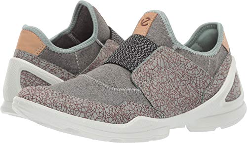 ECCO Women's Biom Street Slip On Sneaker, ice Flower/Wild Dove, 41 M EU (10-10.5 US)]()