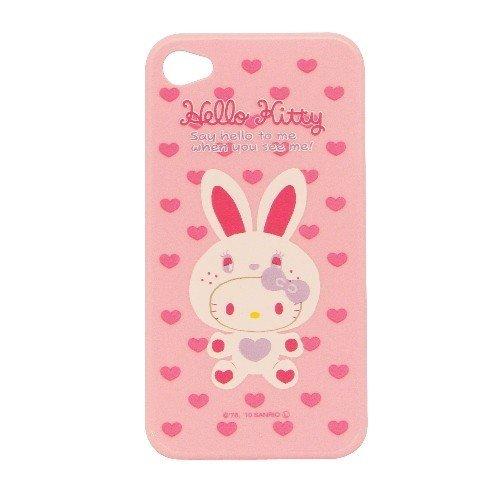 Hello-Kitty Typ-A Schutzhülle für Apple iPhone 4/4S rosa