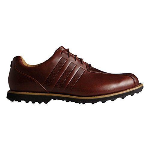 adidas Men's Adipure TC Golf Cleated, Red Wood-TMAG/Red Wood-TMAG/Core Black, 10 M US by adidas