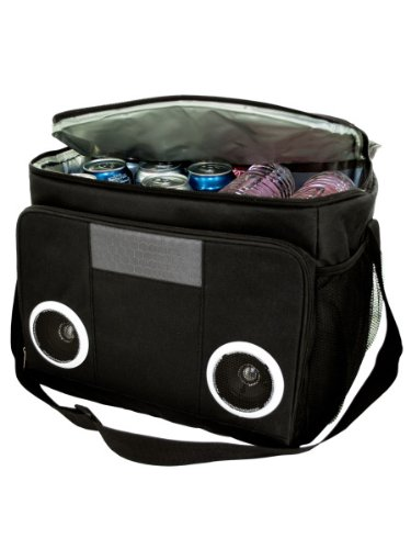 Price comparison product image MP3 Speaker Cooler Bag Case of 4