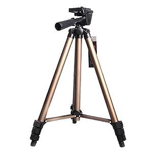 APRO 50-inch Camera Camcorder Tripod for Any SLR Camera Canon Nikon Sony Fuji Pentax Tamron Olympus Sigma