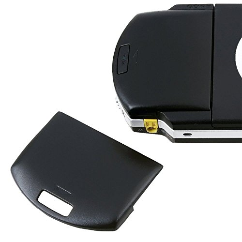 Replaceme Battery Back Door Cover Case for Sony PSP 1000 1001 1002 1003 Fat Black