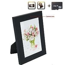 8GB Hidden Camera Indoor Home Bedroom Photo Frame Spy Cameras Motion Detection Safe Home Guard DV Camcorder with Video Recording