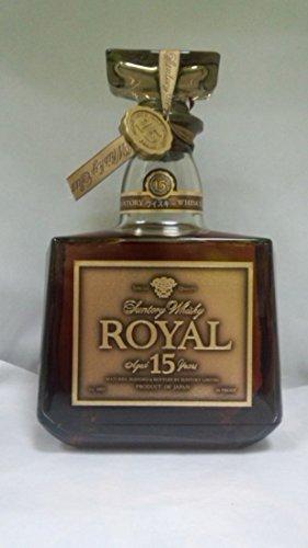 サントリー ローヤル 15年 ゴールドラベル 43度750ml 箱なし