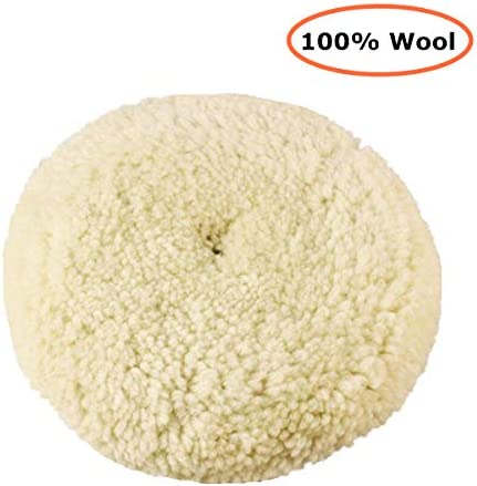 Natural Wool Double Side Compound Cutting and Polishing Woolous 7//180mm Wool Buffing Pads