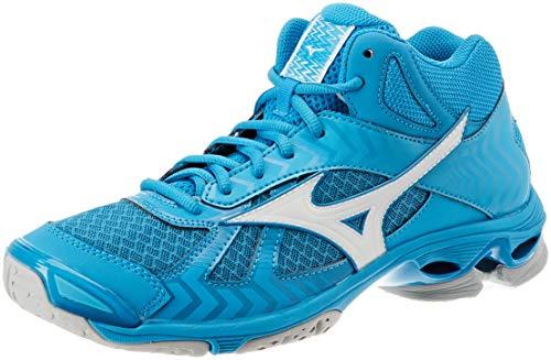 Sneakers hawaiianocean Wave 7 Bolt Multicolore 001 Basses Mizuno Homme blue Md wht wU7Inx