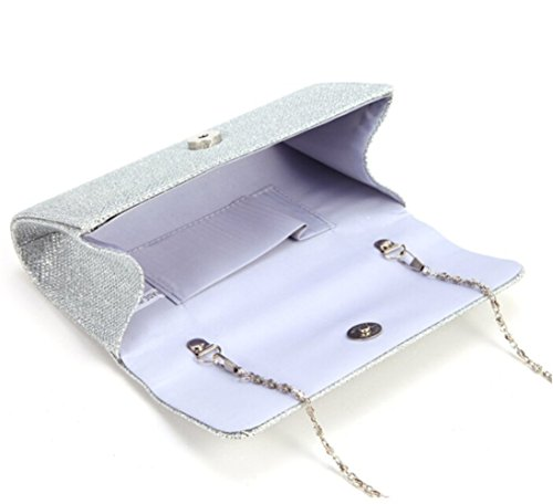 Bag Party Clutch U Small Evening Silver Chain Womens Shoulder Tote Story Wedding Prom Handbag YwIS0A