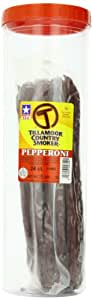 Tillamook Pepperoni Stick, 13-Inch Bulk Sticks (Pack of 24) 1.35lbs