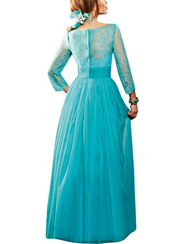 Prom Sheer Bride Cowl Party Dresses The D Neck Mother H Of Lace Royalblue Gowns S Tulle fHaqa1