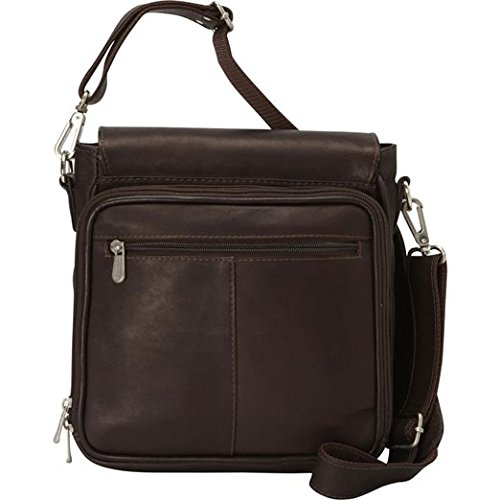 (Piel Leather Double Loop Tablet Carry-all,)
