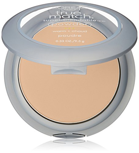 L'Oréal Paris True Match Super-Blendable Powder, Sand Beige, 0.33 oz.