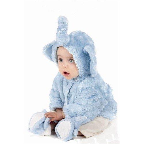 (Peanut the Elephant Baby Blue Coat- (6-12 Months))