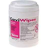 Metrex CaviWipes Disinfecting Towelettes, Canister of 160 wipes by Metrex