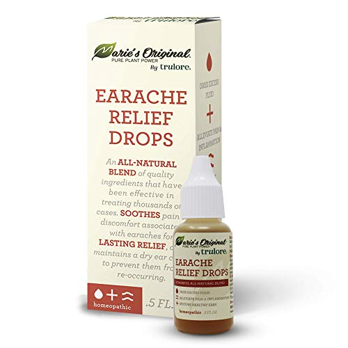 Natural Earache Drops for Ear Infection Prevention, Pain Relief, Swimmer