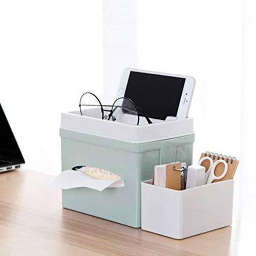 Winner666 2019 Living Room Dressing Table Desktop Sundries Storage Box Office Storage Box (Green)