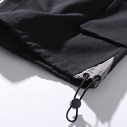 CHLCH Pantalones Cortos de algodón para hombresCordon Cinco ...