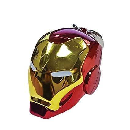 Marvel Comics Llavero metálico Iron Man Helmet