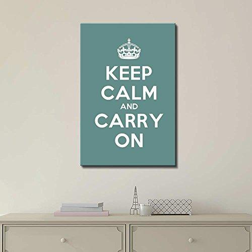 Keep Calm and Carry On Wall Decor