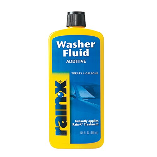 (Rain-X White RX11806D Washer Fluid Additive-16.9 fl. oz, 500. ml)